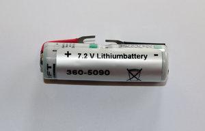 Batteri, litium 7,2V med kabelsko