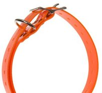 Sändarhalsband, orange 65cm